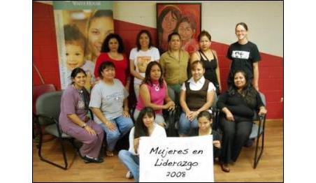 Top row: Alicia Ranney, Silvia Perez, Margarita Carrillo, Gloria Mendoza, Rosario Melchor. Middle row: Margarita Luna, Teresa Rosario, Marisol Ventura,  Tomasa Delgado, Maria Cisneros. Bottom row: Ana Vite and Jovita Morales.