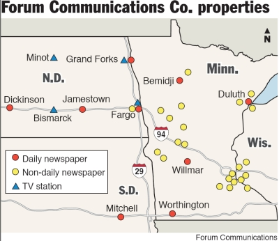 Forum's Upper Midwest empire