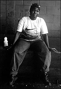 Rest Break at Acme Foundry, Minneapolis, 1998.