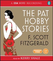 F. Scott Fitzgerald goes to Hollywood: The cover of the CSA Word audiobooks of the Pat Hobby stories