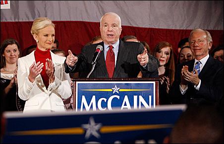 Republican presidential candidate U.S. Senator John McCain