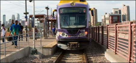 Preliminary engineering for a light-rail line between Eden Prairie and downtown Minneapolis has been approved, but funding hurdles remain.