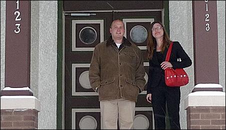 Brian Finstad and Connie Nompelis