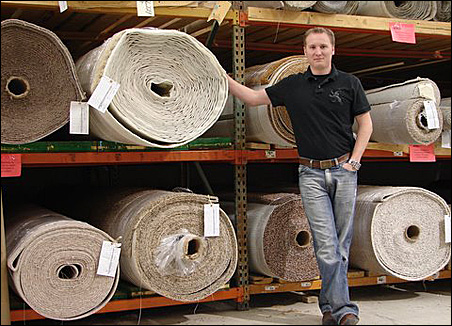 ReStore Manager Zach Spader