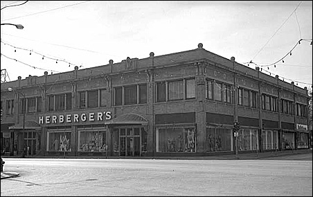 The Herberger's store in Hibbing, Minn., circa 1954.