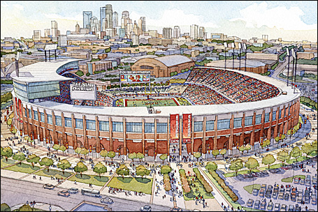 The University of Minnesota plans to seek LEED certification for the Gophers stadium opening in 2009.