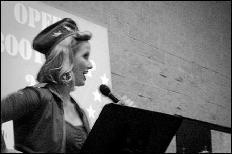 Angie Keeton leads Minnesota Opera's Boot Camp.