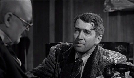 """Jimmy Stewart in """"It's a Wonderful Life"""": A man with a breaking point"""
