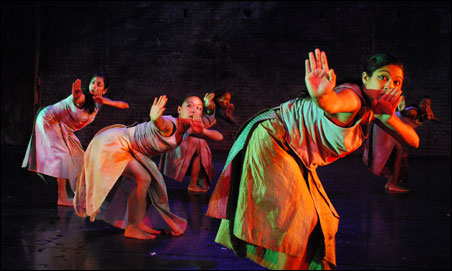 Ananya Dance Theatre is an all-female collective.