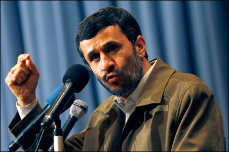 "Mr. Ahmadinejad used an interview Tuesday with NBC to announce that the two Americans would be released shortly as a ""humanitarian gesture."""