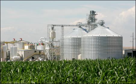 corn-ethanol power plant
