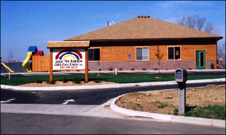 Under the Rainbow child-care center in Red Wing, Minn.