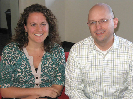 Emilie Hitch and Mark Bubula