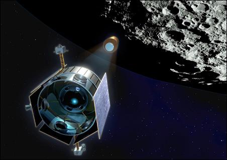 NASA's Lunar CRater Observation and Sensing Satellite
