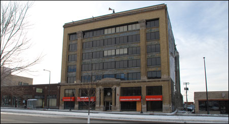 The historic Chittenden and Eastman building, which will be transformed into a an apartment building with 104 units.