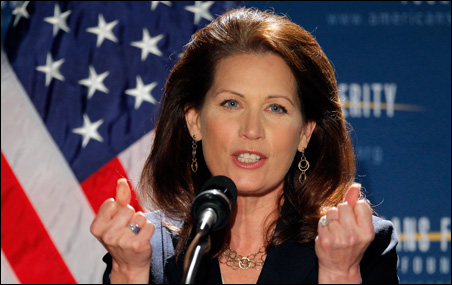 Rep. Michele Bachmann offered, by far, the most comprehensive economic plan at the summit.