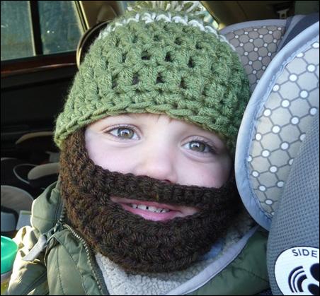 Bearded hat by Myohmycutiepie