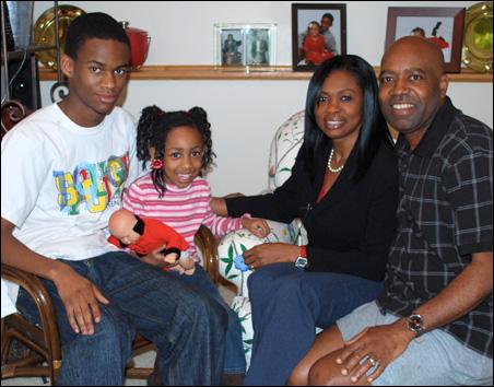 Aba Hamilton Dolo and family
