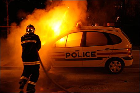 Parisian firefighter