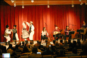 Hosmer Music Series featuring Szkska plays Hungarian, Transylvanian and Gypsy music.