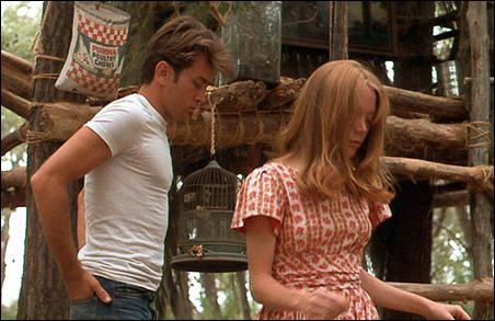 "Martin Sheen and Sissy Spacek in ""Badlands"""