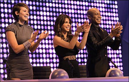 """Paula Abdul and other """"Live to Dance"""" judges"""