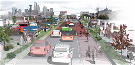 Plans unveiled by the Minneapolis Downtown Council involve new connections to the University of Minnesota, including a residential district on the Metrodome site.