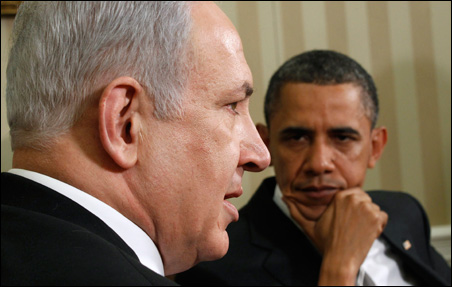 President Barack Obama met with Israel's Prime Minister Benjamin Netanyahu in the Oval Office on Friday.