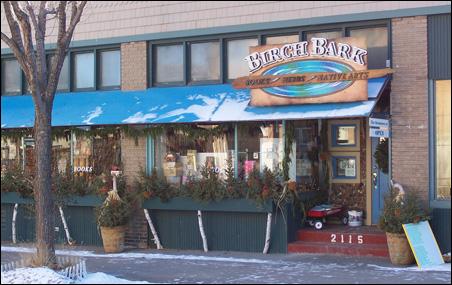 Birchbark store