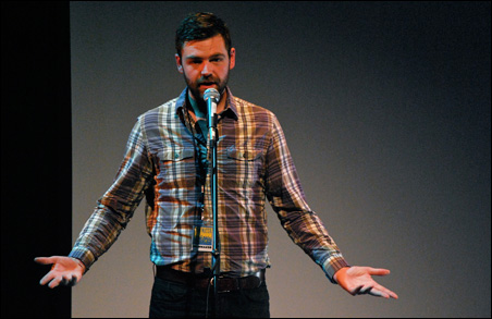 Filmmaker J.J. Kelley, winner of 2010 Best Documentary at BWFF for Paddle to Seattle.