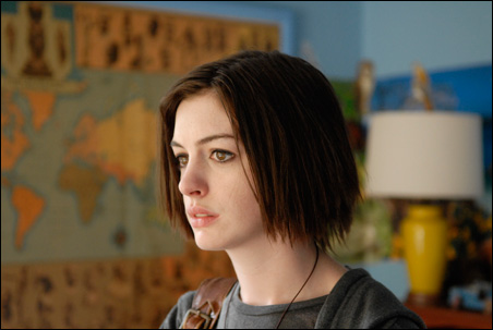 "Anne Hathaway is something wild in Jonathan Demme's ""Rachel Getting Married."""