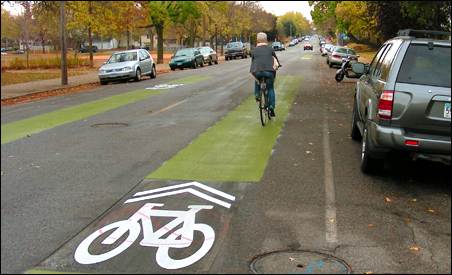 "Minneapolis bike riders are about to achieve a new status -- official members of ""traffic."""