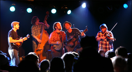 Pert Near Sandstone will play at a benefit Friday at First Avenue to buy musical instruments for Lyndale Elementary School in Minneapolis.
