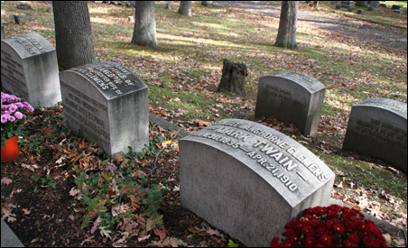 Clemens family grave sites