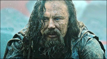"Mickey Rourke in ""Immortals,"" Mickey Rourking it up"