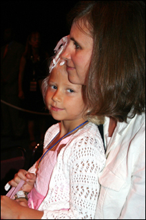 Kristi Hunt with daughter Katherine