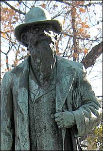 Statue of Col. John H. Stevens