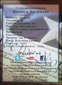 Bachmann card back