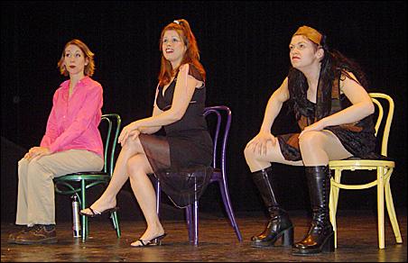 Kristin Richardson, Kristen Shea and Stacey Poirier