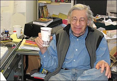 Al Milgrom in his office.