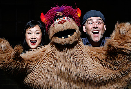 Minglie Chen, Trekkie Monster and David Benoit