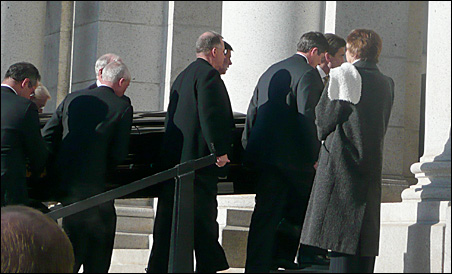Carl Pohlad's funeral