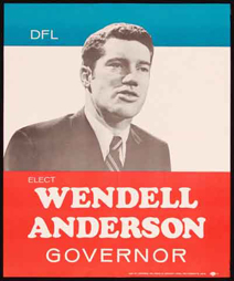 Elect Wendell Anderson poster