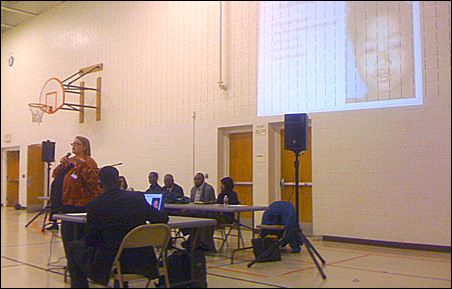 Health officials, physicians and leaders of the Somali community led a forum on the safety of the measles vaccine at the Brian Coyle Center on Saturday.