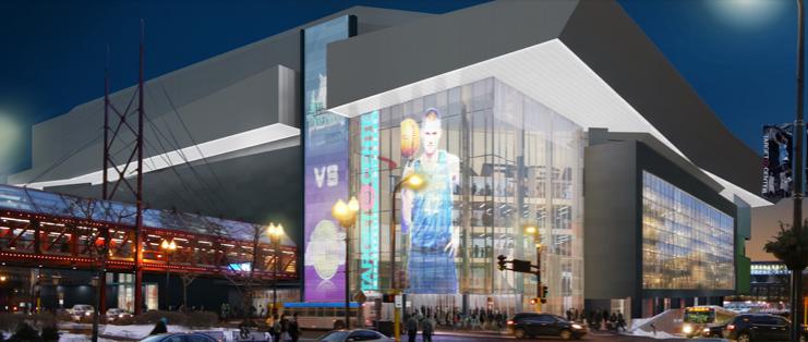 The reimagined Target Center -- for $155 million