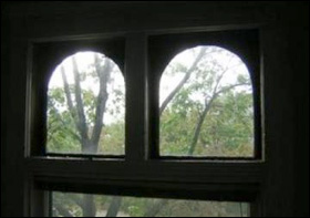 Healy arched windows