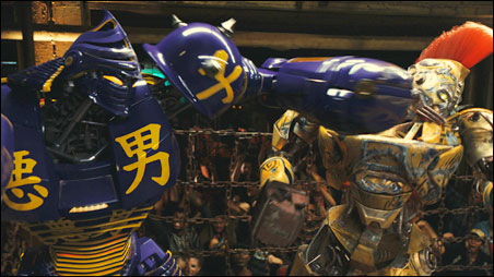 "How is it that the most believable things in ""Real Steel"" are the boxing robots?"