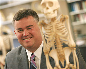 University anthropologist Kieran McNulty