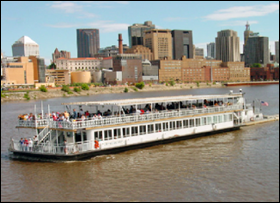 A Padelford Packet Boat Co, Inc. riverboat