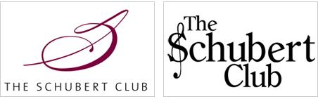 An updated logo, left, is part of the Schubert Club's branding makeover.